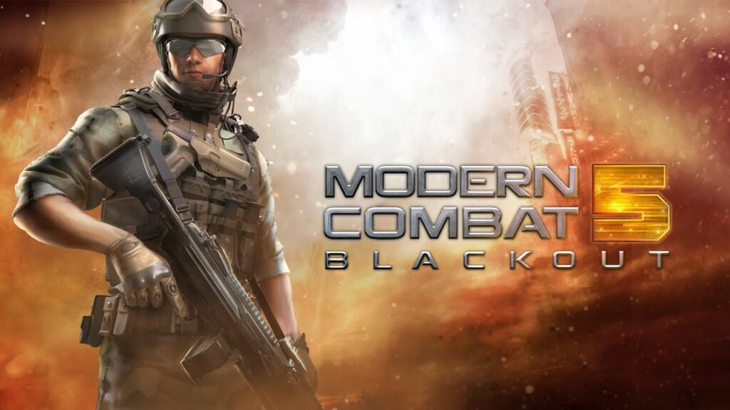 game android fps Modern Combat 5